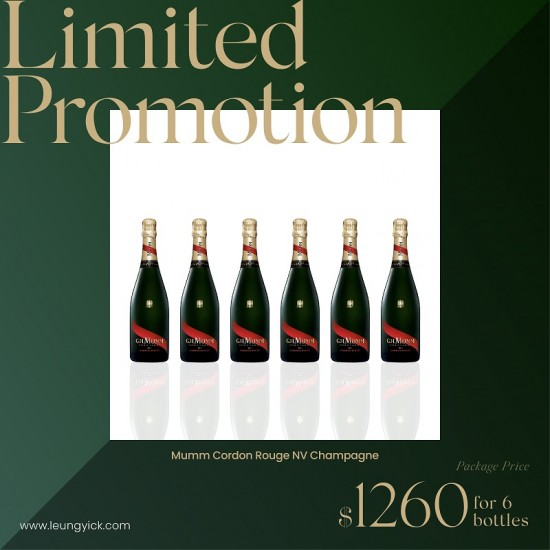Mumm Cordon Rouge NV Champagne