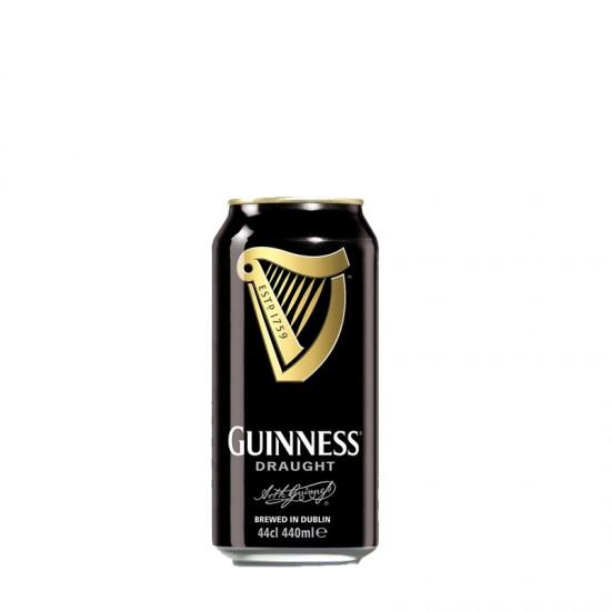 Guinness Stout Draught Beer (can 440ml) - per case