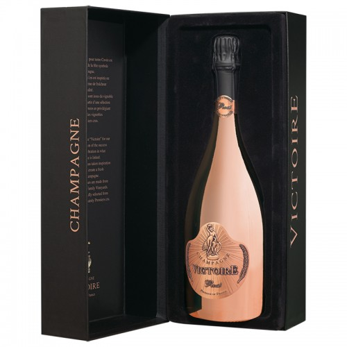 Champagne Victoire Brut Rose (Limited Edition) (Giftbox)