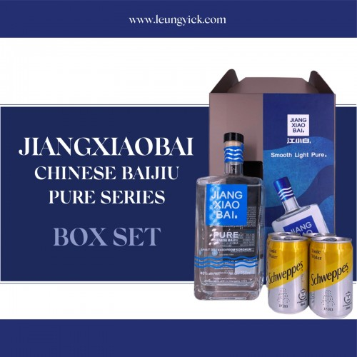 Jiangxiaobai Chinese Baijiu Pure Series Box Set