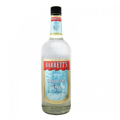 Barrett's London Dry Gin - litre