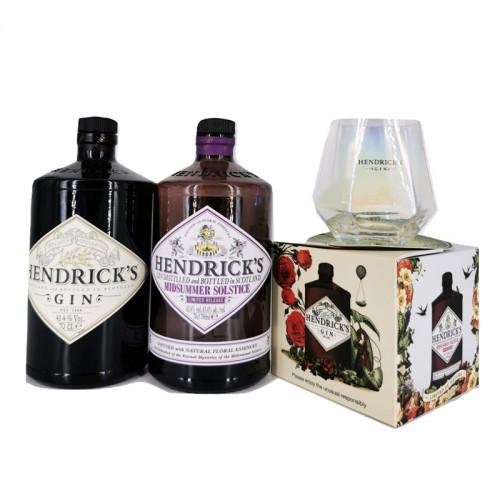 Hendrick's Gin + Hendrick's midsummer Solstice Gin