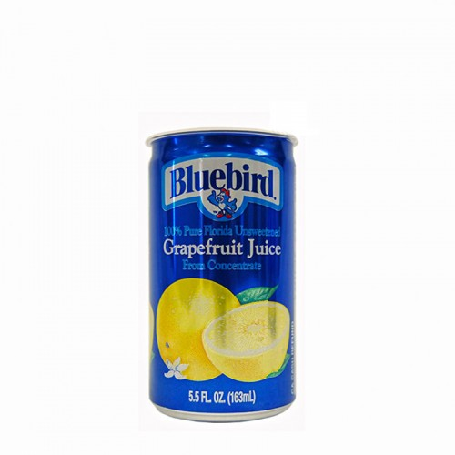 U.S.A. Bluebird Grapefruit Juice (can 5.5oz) - per case
