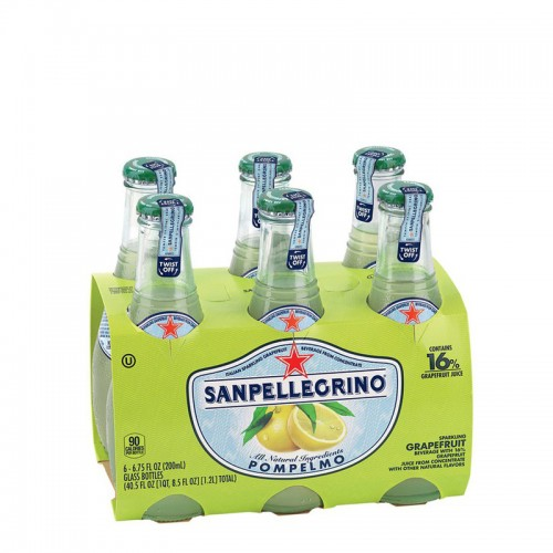 San Pellegrino Grapefruit Carbonated Fruit Drinks - per case