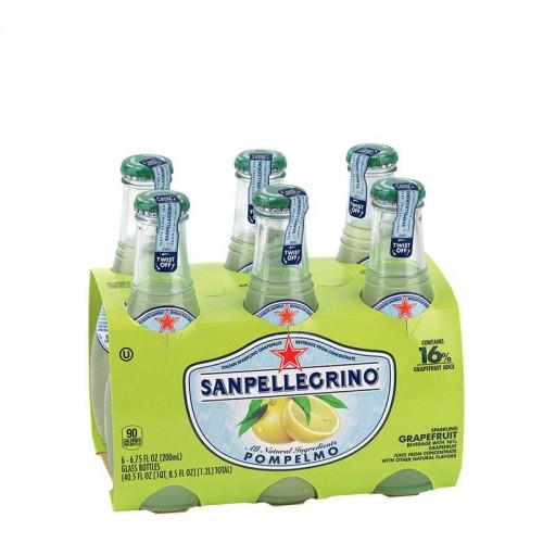 San Pellegrino Grapefruit Carbonated Fruit Drinks - per case