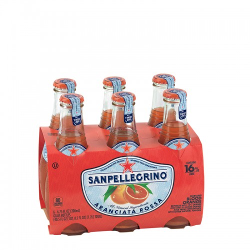 San Pellegrino Blood Orange Carbonated Fruit Drink - per case