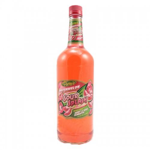 Potter's Sour Splash Watermelon - litre