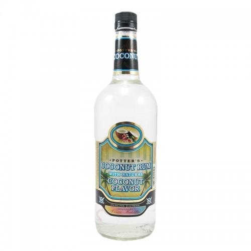 Potter's Coconut Rum - litre