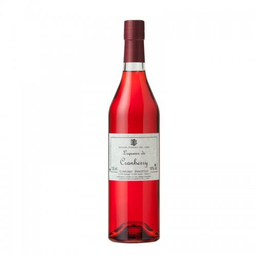 Edmond Briottet Cranberry Liqueur (Cranberry) Liq