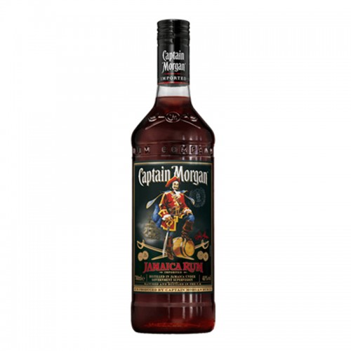 Captain Morgan Black Label Rum - litre