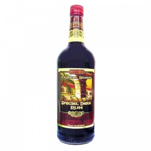 Potter's Special Dark Rum - litre