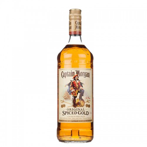 Captain Morgan Spiced Gold Rum  - litre