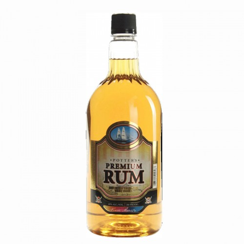 Potter's Rum (Gold) - litre