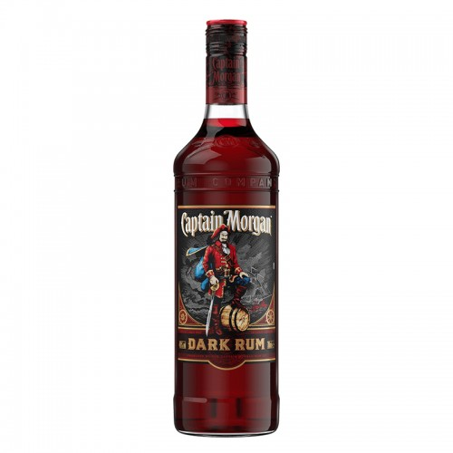 Captain Morgan Dark Rum - litre