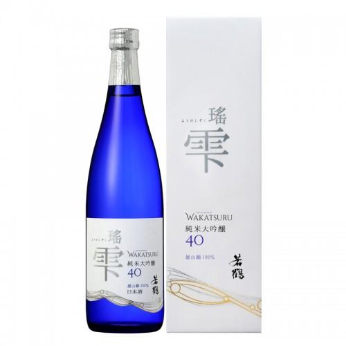 Wakatsuru Yo-Shizuku Junmai Daiginjyo Sake - Magnum