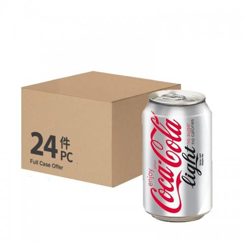 Coke Light (can) - per case