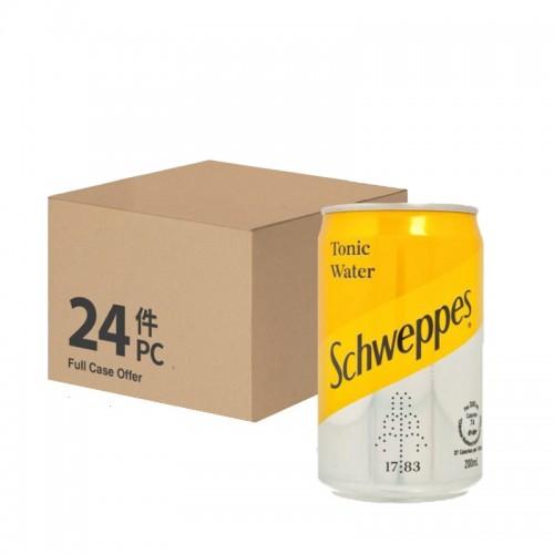 Schweppes Tonic Water 200ml – per case