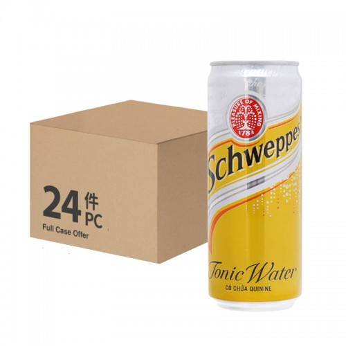 Schweppes Tonic Water 320ml – per case