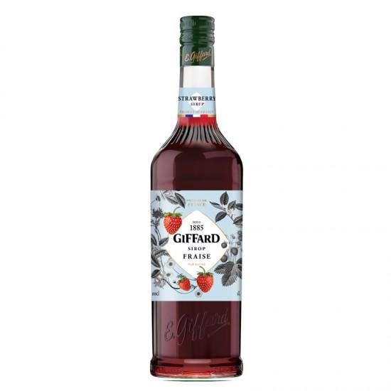 Giffard Strawberry (Fraise) Sirop - litre