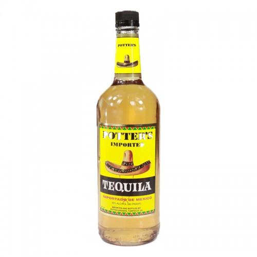 Potter's Tequila (Gold) - litre