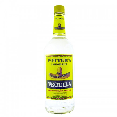 Potter's Tequila (White) - litre