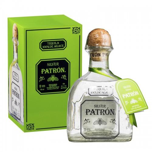 Patron Silver Tequila 100% de Agave