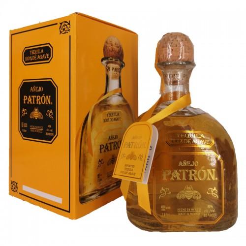 Patron Anejo Tequila 100% de Agave – litre