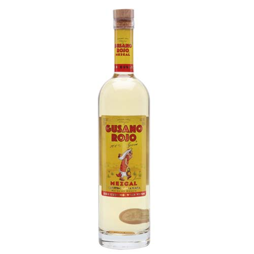 Gusano Roja 100% Agave Mezcal