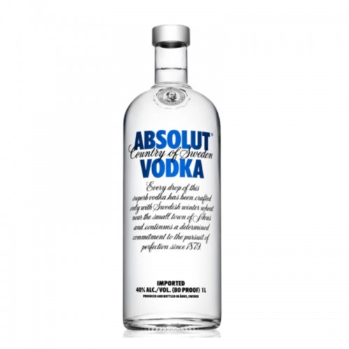 Absolut Vodka - litre