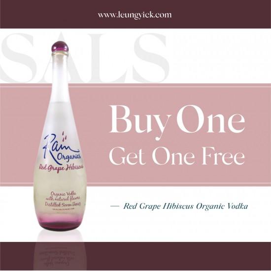 Rain Organics Red Grape Hibiscus Organic Vodka