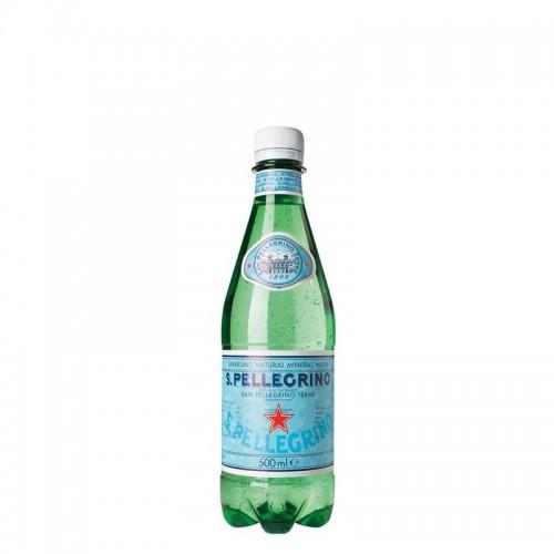 San Pellegrino Sparkling Water (btl 500ml) - per case