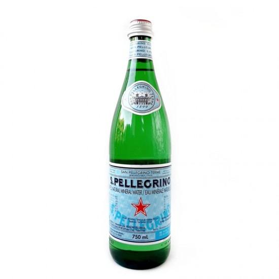 San Pellegrino Sparkling Water (btl 750ml) - per case