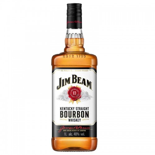 Jim Beam Bourbon Whiskey - litre