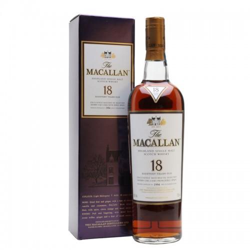 The Macallan 18 Years Single Malt (Sherry Oak)