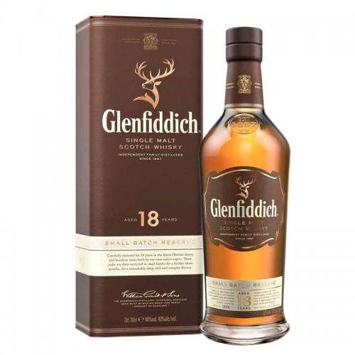 Glenfiddich 18 Years Single Malt Whisky