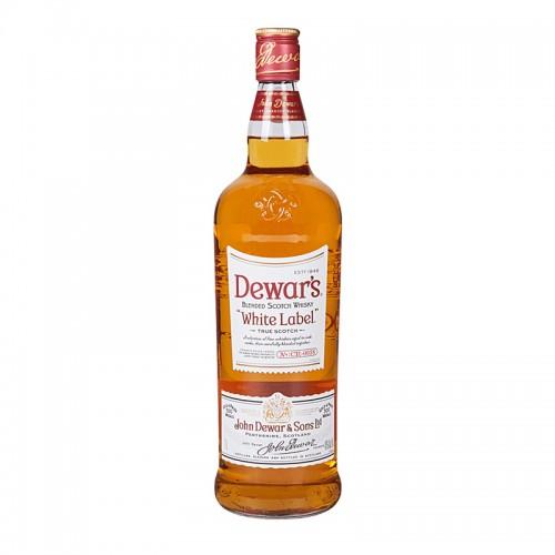 Dewar's White Label Scotch Whisky - litre