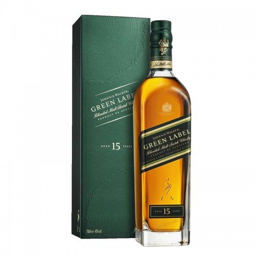 Johnnie Walker Green Label 15 Years Blended Malt Whisky