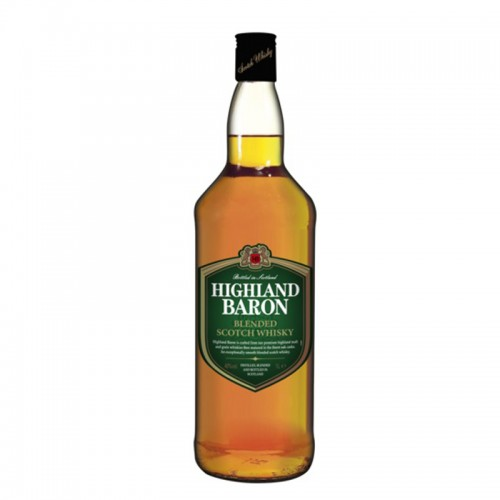 Highland Baron Scotch Whisky - litre