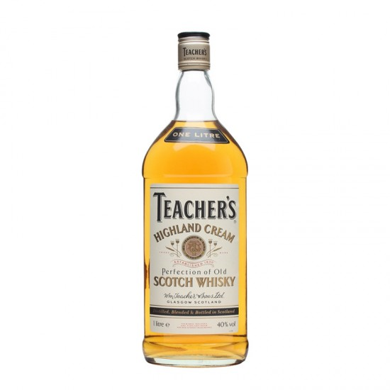 Teacher's Highland Cream Scotch Whisky - litre