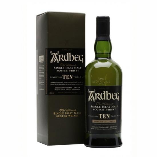 Ardbeg 10 Years Single Islay Malt Scotch Whisky