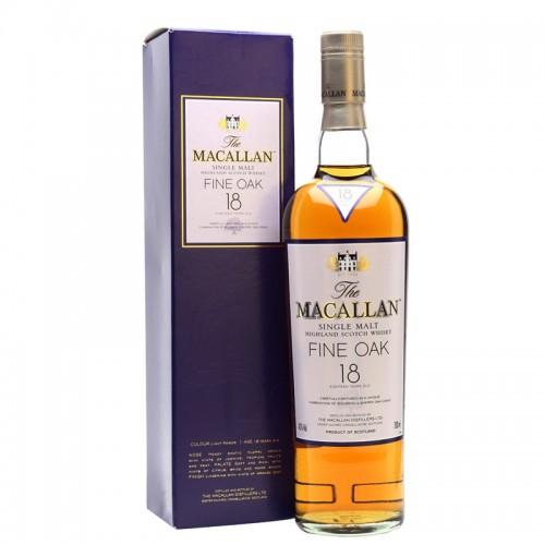 The Macallan 18 Years Single Malt (Fine Oak)