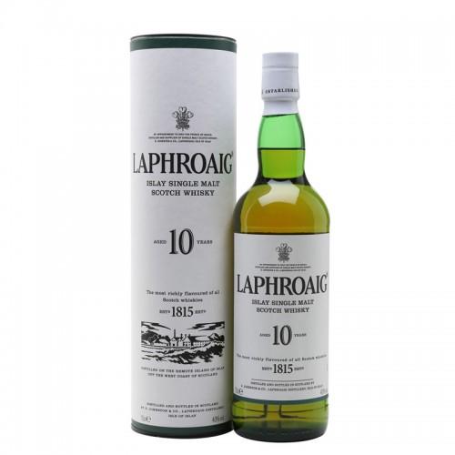 Laphroaig 10 Years Single Malt - litre