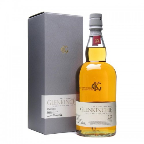 Glenkinchie 12 Yrs Single Malt Scotch Whisky-litre