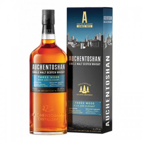 Auchentoshan (Three Wood)Single Malt Scotch Whisky