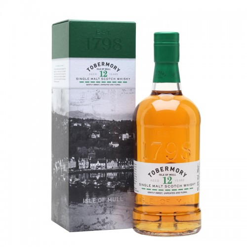 Tobermory 12 Years Single Malt Scotch Whisky