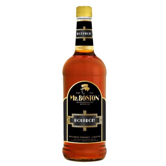 Mr. Boston Bourbon Whiskey - A Blend