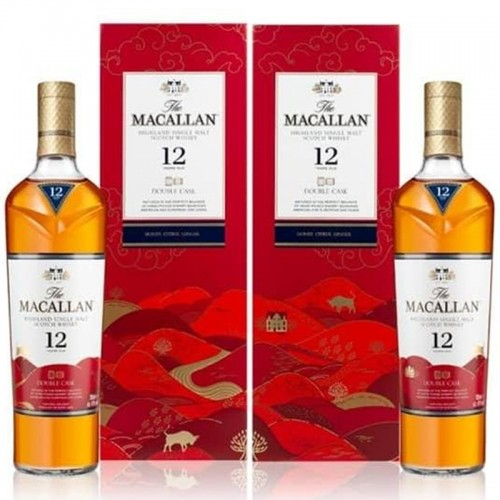 The Macallan 12 Years Double Cask LNY 2021 (Set)