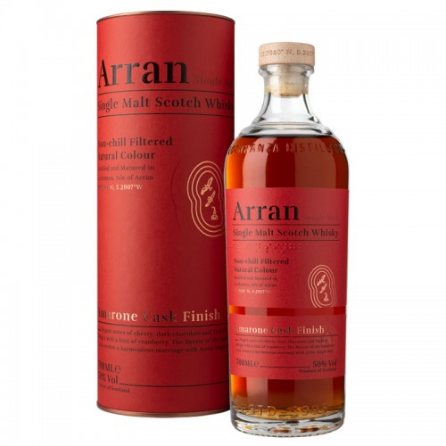 Arran Single Malt Whisky (Amarone Cask Finish)