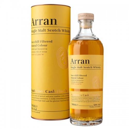 Arran Single Malt Whisky (Sauternes Cask Finish)