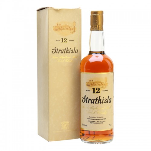 Strathisla 12 Years Single Malt Whisky